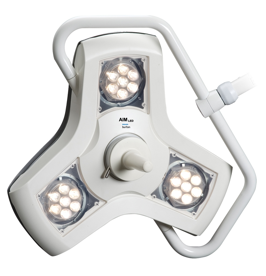 Single Ceiling Mount Led Exam Light Philips Burton Aim Led