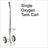 Oxygen Tank Cart for D or E cylinders