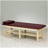 Clinton Bariatric H-Brace Low Height Treatment Table 26 Inches