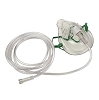 Allied Healthcare Oxygen Mask Adult 7-Foot Tubing Case of 50