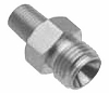 Allied Healthcare  Oxygen DISS Male to 1/8th NPT Male Fitting with Check Valve 12-80-3011