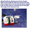 Allied Healthcare Portable Suction Pump L190 and G180 Power Supply L200018