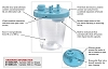 Allied Healthcare Schuco Twist Lock HD Suction Canister 5 per Case S1160BS-RPL