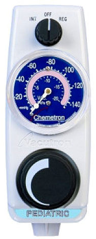 Allied Healthcare Vacutron Pediatric Continuous Intermittent Suction Regulator Chemetron Back Fitting DISS Male Outlet 22-17-1108