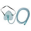 Amsino Amsure Oxygen Mask and 7ft Kink Resistant Tubing AS74010 Case of 50
