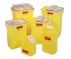 BD Chemotherapy Sharps Container Yellow 3 Gallon 305076 Case