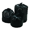 Bunzl EnviroPlas Black High Density Can Liners 13800291