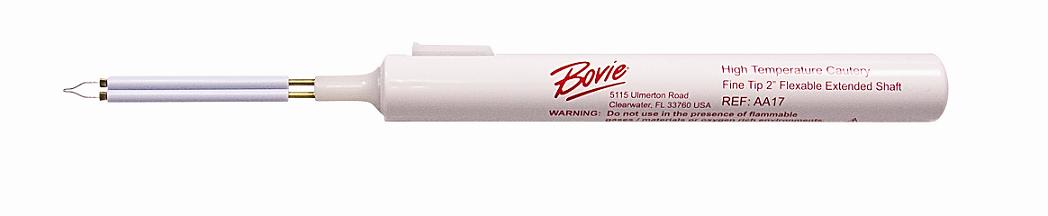 Bovie AA17 High Temperature Fine Tip Cautery Extended 2 Inch Shaft 10 per Box