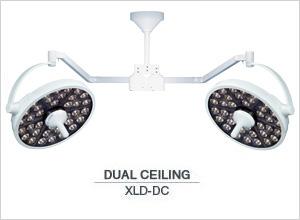 Medical Illumination MI-1000 LED Surgical Light-Dual Ceiling XLD-DC