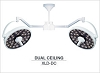 Medical Illumination MI-1000 LED Surgical Light-Dual Ceiling XLD-DC