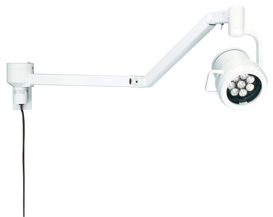 Wall Mount Exam Lights : Medical Illumination 500 LED Wall Mount Exam-Diagnostic Light Bovie Medical XLDE-WM
