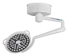 Medical Illumination MI System Two LED Surgical Light Solo-One 120K Lux Light XLDS-S2