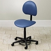 Adjustable Hands-Free Stool with Backrest 2145-W