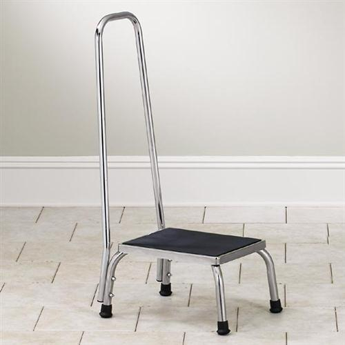 Remarkable Stainless Steel Step Stool With Hand Rail Ss 150 Dailytribune Chair Design For Home Dailytribuneorg