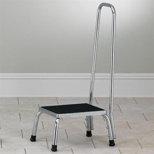 Clinton Step Stool with Hand Rail T-50