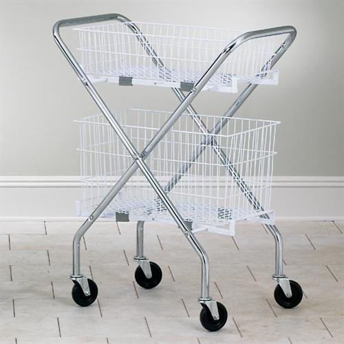Chrome Plated Folding Cart Frame
