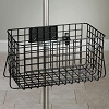 Small Heavy Duty Stainless Steel Wire Basket for IV Pole (Requires universal clamp sold separately)