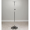 Adjustable Six-Leg, Space-Saver, Heavy Duty, 2-Hook Infusion Pump Stand