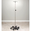 Adjustable Stainless Steel, Six-Leg, 4-Hook Infusion Pump Stand