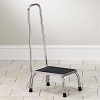 Stainless Steel Step Stool with Hand Rail SS-150