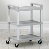 Value Plastic Utility Cart