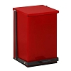 Clinton Industries 24 Quart Premium Red Waste Receptacle TP-24R