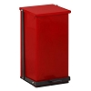 Clinton Industries 32 Quart Premium Red Waste Receptacle TP-32R