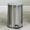 Clinton Industries Medium Round Stainless Steel Waste Receptacle TR-20S