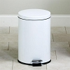 Medium Round White Waste Receptacle