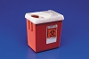 Covidien Phlebotomy Sharps Container 2 QT 1522SA Case
