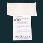 3x6 Traditional Beanbag or Gel Repair Patch by Blue Diamond