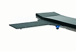 David Scott BD301 Two Clamp Rectangular Phenolic Table Two Inch Pad 12x30