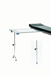 David Scott BD340 Single Post Leg Poly-Carbonate Hand Surgery Table