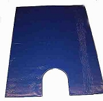 40x30x1 Blue Diamond Gel Overlay with Cutout for Beanbag Positioner