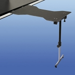 David Scott BD4400HT Hourglass Telescoping Single Leg Universal Mount Surgery Table