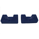 David Scott Blue Diamond Heel Cup Mini Positioner Pair