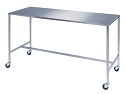 8395 XXL 24x72x34 Rectangular H-Brace Surgical Instrument Table by Lakeside