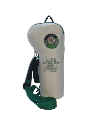 LIFE Corporation Emergency Oxygen Kit 6 or 12 LPM SoftPac-612 LIFE-2-612