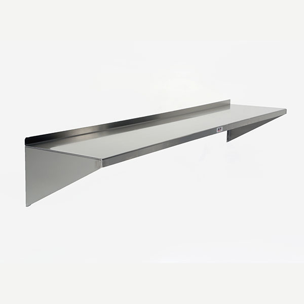 Mid Central Medical Stainless Steel Wall Shelf 36 X 10 inches MCM642