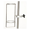 MCM 229 Stainless Steel IV Pole Oxygen Tank Holder