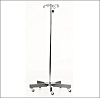 MCM 239 6-Leg SS Infusion Pump Stand 6 Inch Hook 52 - 94 Inches