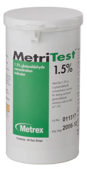 Metrex Metritest For 14 Day Use Life Case of 2 Bottles 10-303