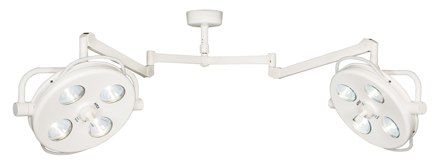 10 Feet Double Ceiling Mount Surgical-OR Lights Philips Burton APEX APXDC1025 230V