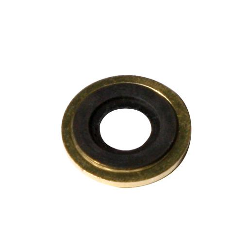 Brass Regulator Washer with Rubber Ring, 25 pack