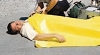 TIDI Emergency Blankets 58 X 90 Inches Bight Yellow Disposable Case 980043