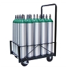 20 Cylinder Medical Oxygen Cylinder Cart for Size D E and M9 Tanks 150-0200