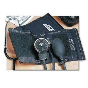 Manual Blood Pressure Kit with Self Adjusting Cuff and Nurse Scope