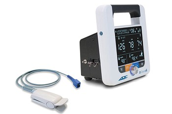 ADC Adview2 Diagnostic Station Vital Signs Monitor Blood Pressure with SPO2 9005BPS