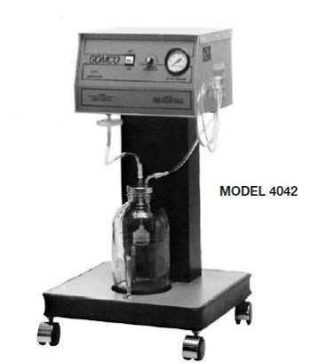 Gomco 4042 Mobile Aspirator - Gomco 4042 Suction Pump