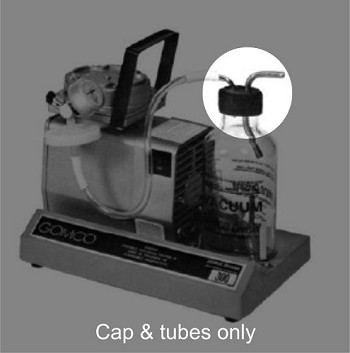 Cap Assembly for 600cc Gomco Glass Bottle I Suction Equipment and Supplies